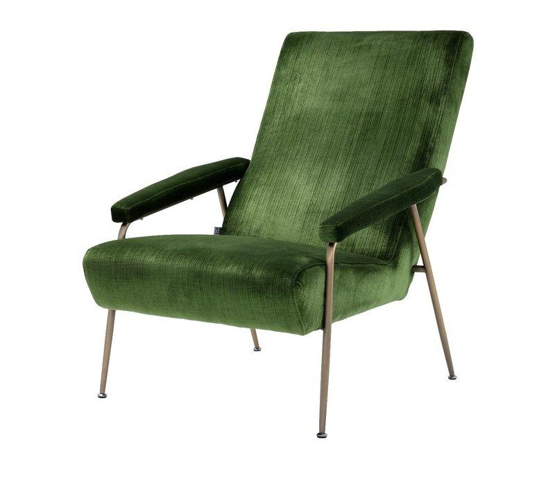 Sessel 'Gio' Catania Green Velvet