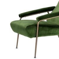 Fauteuil 'Gio' Catania Green Velvet