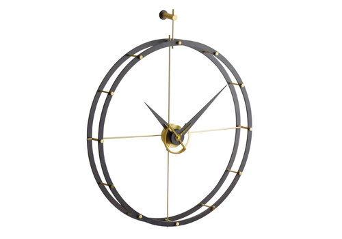 Nomon Design wall clock - Doble O g