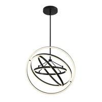 'Cassini' chandelier bronze finish with a diameter of 90 cm