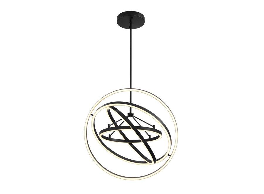 Chandelier 'Cassini' bronze finish met diameter 90cm