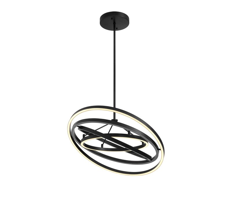 Chandelier 'Cassini' bronze finish mit 90 cm Durchmesser
