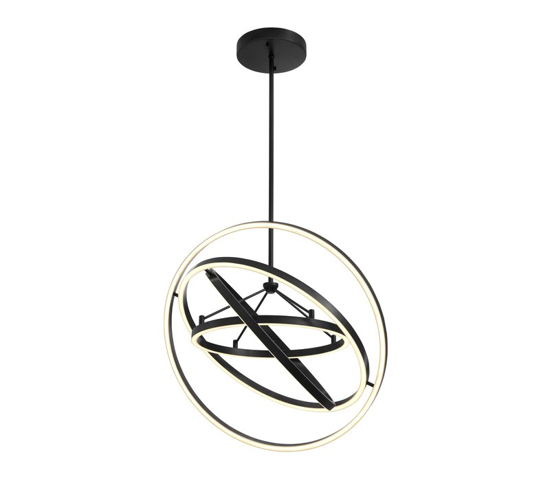 'Cassini' chandelier bronze finish with a diameter of 90 cm