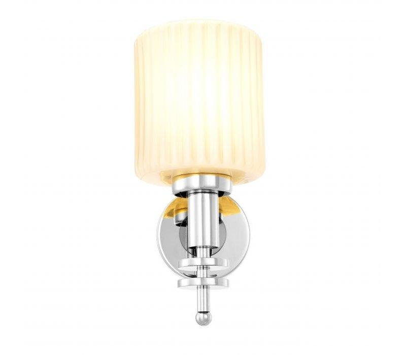 Wall lamp 'Ponza' Nickel