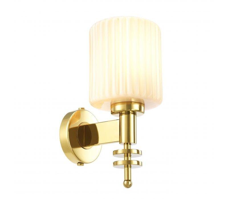 Wandlamp 'Ponza' Gold