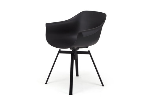 MUUBS Dining chair Swiwel Black