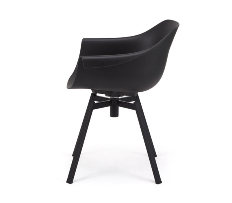 Dining chair Swiwel Black