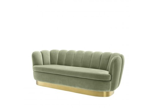 EICHHOLTZ Sofa Mirage Pistache Green Velvet