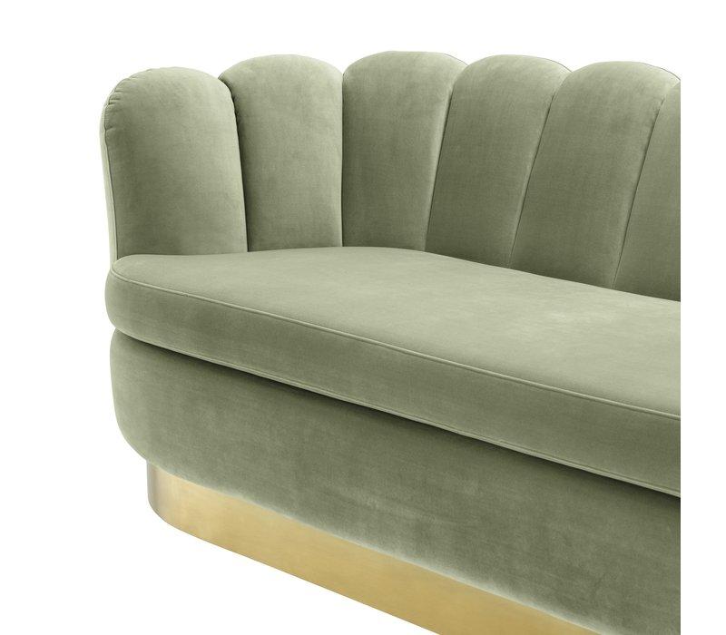 Sofa 'Mirage' Savona Pistache Green Velvet