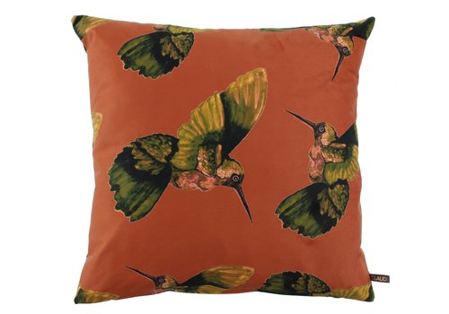 CLAUDI Kissen Hummingbird Jackson Burned Orange