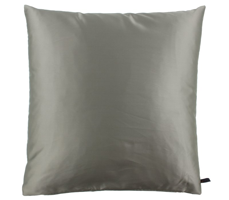 Throw pillow Dafne color Taupe