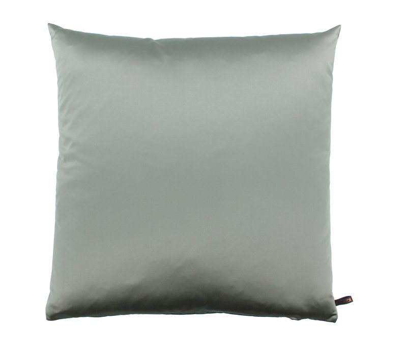 Throw pillow Dafne color Grey Mint