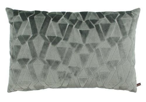 CLAUDI Cushion Zeth Grey Mint