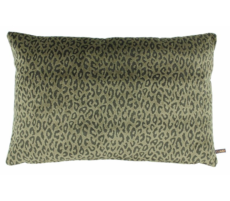 Cushion Olla in color Olive