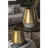 Vase 'gold' - H42 x D39 cm