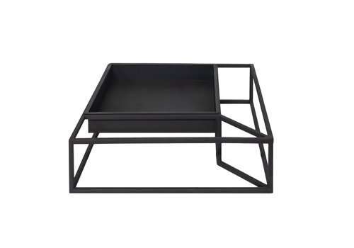 Dome Deco Tray iron in frame 'black' - S