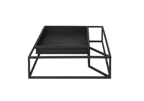 Dome Deco Tray iron in frame 'black' - M