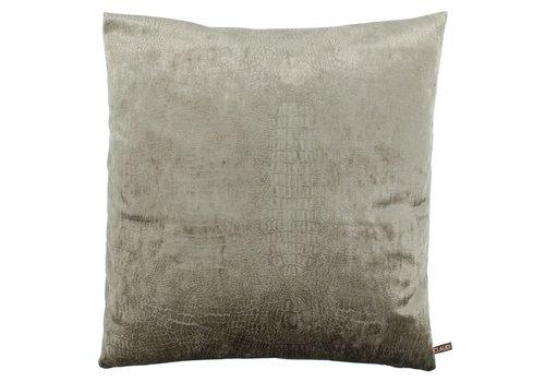 CLAUDI Cushion Cronna Taupe