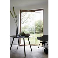 Eettafel Noir Smoked - diameter 110cm