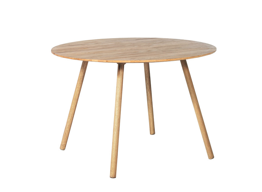 Eettafel Noir Natural - diameter 110cm