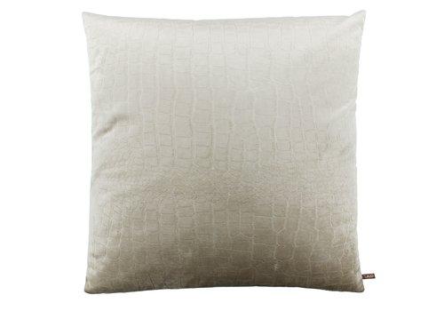 CLAUDI Cushion Brett Off White