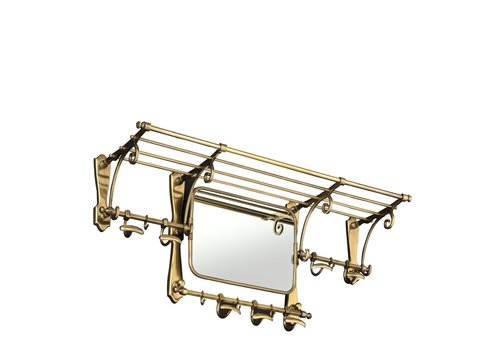 EICHHOLTZ 'Old French' Coatrack antique brass