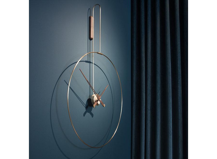 'Daro' wall clock Brass