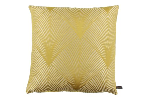 CLAUDI Cushion Donald Mustard