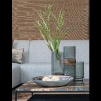 Vase with wooden part - D15.5 x H46.5 cm