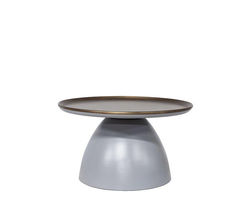 Couchtische matt grey/bronze