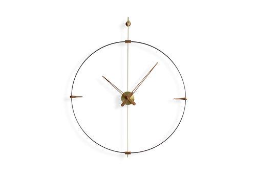Nomon round clock 'Mini Bilbao' Gold