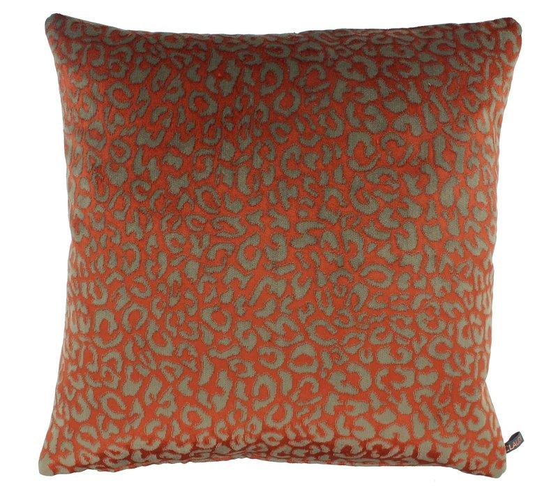 Sierkussen Bernardino kleur Burned Orange