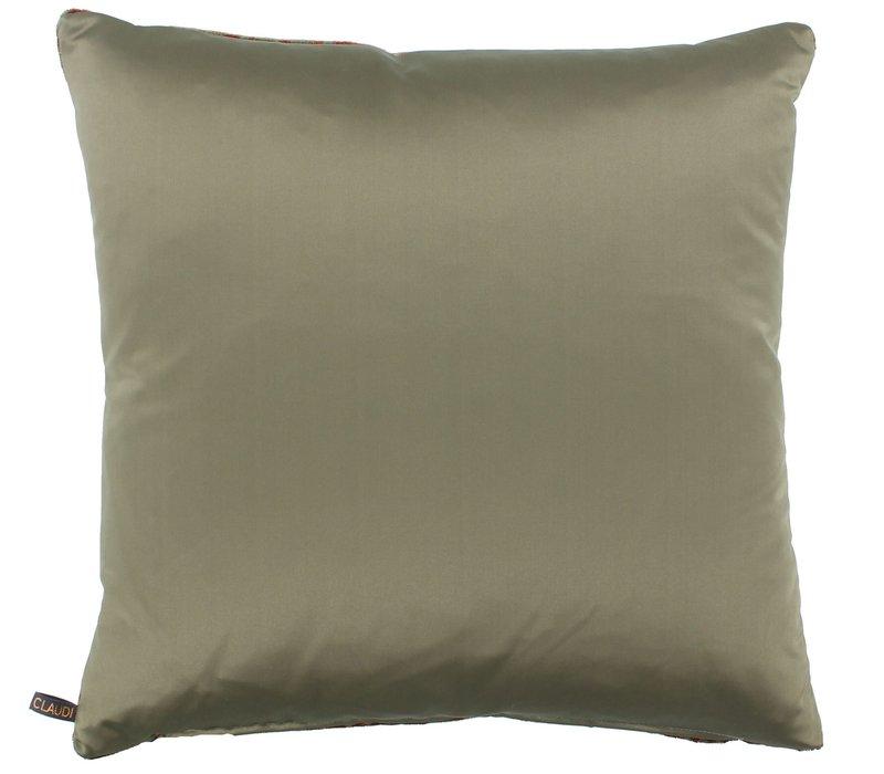 Throw pillow Bernardino Color Iced Blue
