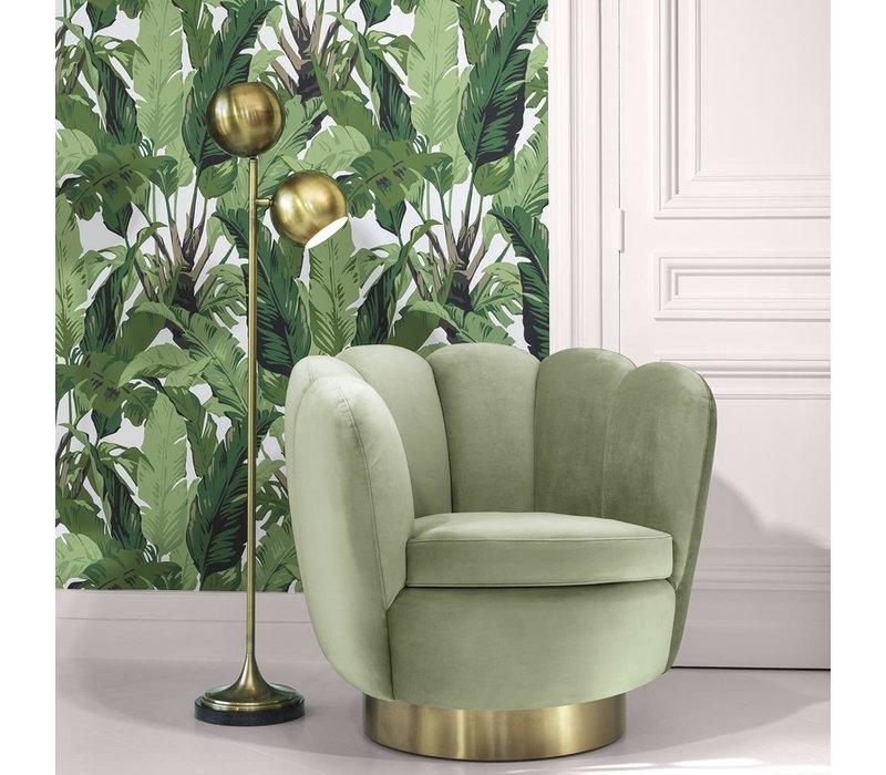 Draaistoel 'Mirage' Savona Pistache Green