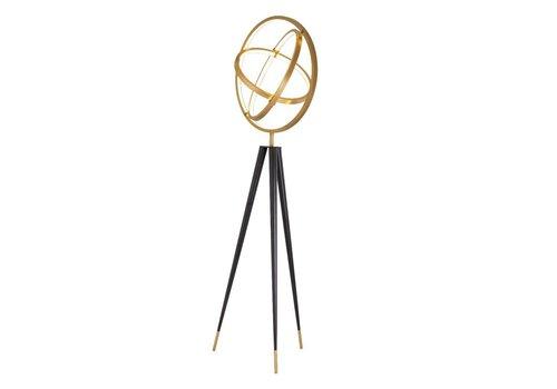 EICHHOLTZ Cassini Floor Lamp antique brass