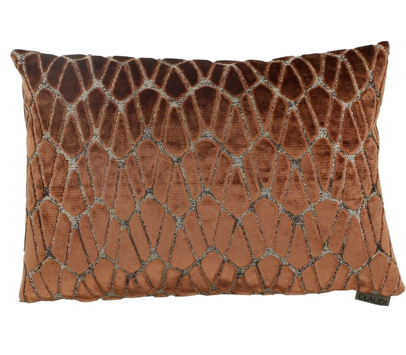 Cushion Rodolfo color Rust