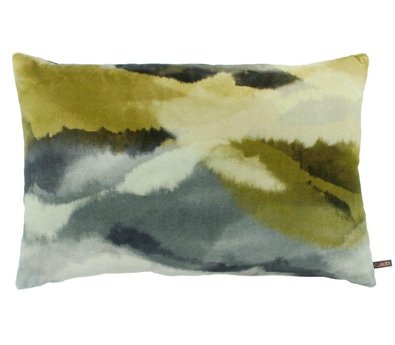 Cushion Mauritz in color Mustard