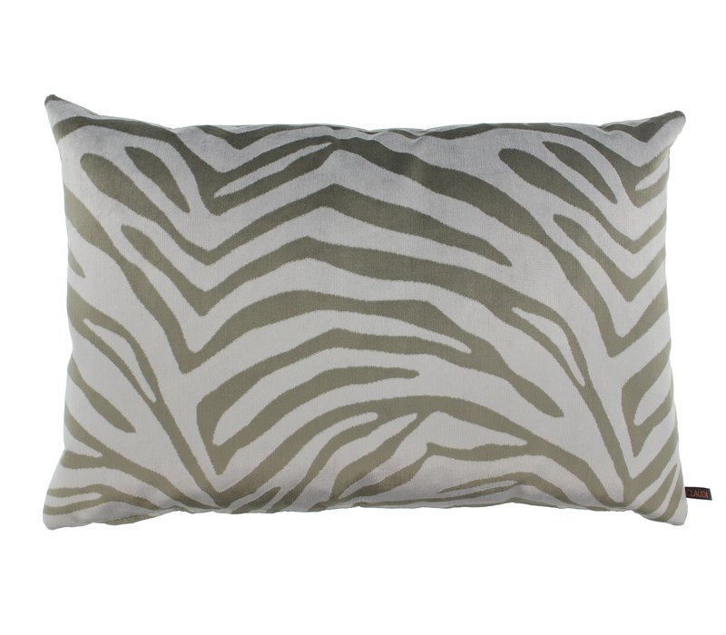 Throw pillow Morena Color Iced Blue
