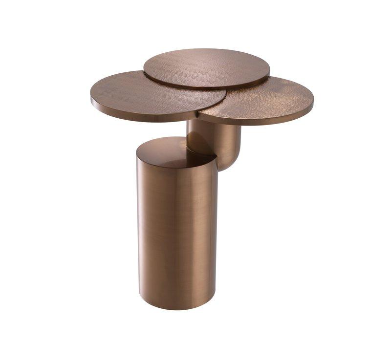 Hoge bijzettafel 'Armstrong' Brushed Copper