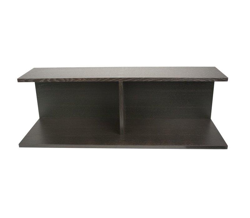 Bookshelf voor 'Modular' bank - brown