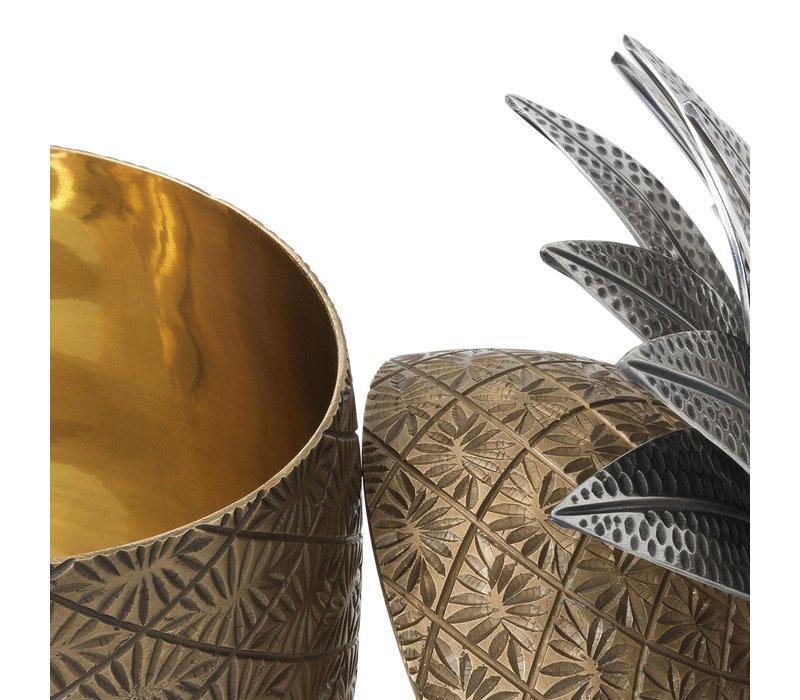 Box 'Pineapple' Antique Brass