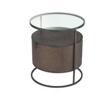 'Napa Valley' Bed Side Table ø 50 x H. 56 cm