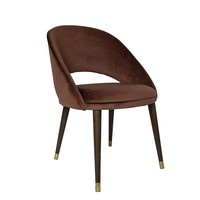 Dining chair 'Bend' Terracotta