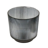 Kerzenhalter 'Lines' Grey