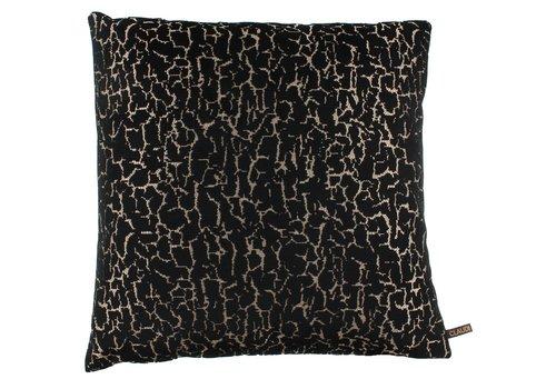 CLAUDI Cushion Gratia Black Gold
