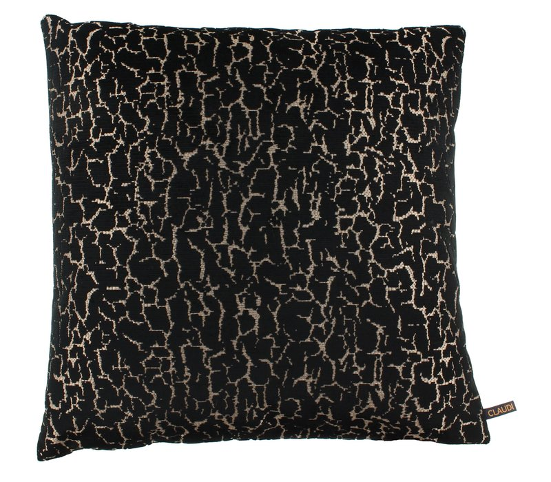 Cushion Gratia Black Gold