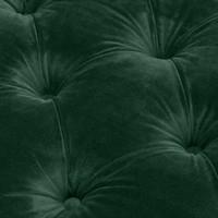 Sofa Castelle Roche dark green velvet