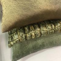 Cushion Croco Army