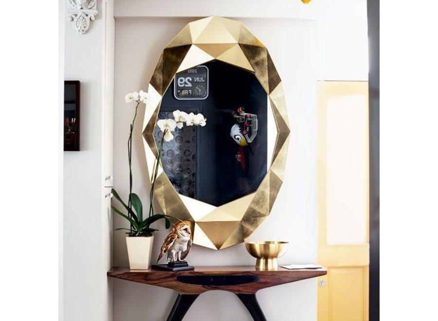 wandspiegel Precious in gouden lijst