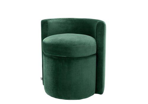 EICHHOLTZ Polsterstool Arcadia Dark Green
